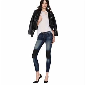 Cult of Individuality Skinny Moto Style Jeans 26
